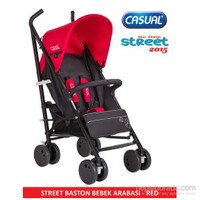 Casual Street Baston Bebek Arabası 2015 Sezon / Kırmızı