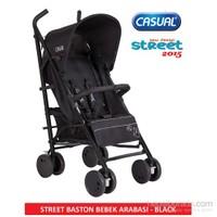 Casual Street Baston Bebek Arabası 2015 Sezon / Siyah