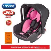 Casual Uno 0-13 Kg Taşıma Koltuğu / Pembe