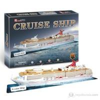 Cubic Fun 3D 86 Parça 3 Boyutlu Puzzle Cruise Ship Gemi