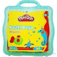 Play-Doh 24 Renk Pastel Boya Plastik Çantalı