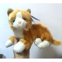 Birlik Oyuncak Bplush Oyuncak Kedi Gerçek Sesli Sarı