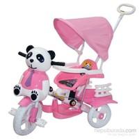 Baby Poufi Sevimli Panda Pembe