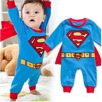 Modakids Erkek Bebek Uzun Kol Süper Kahraman Tulum 035-572-015