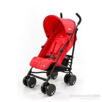 Wollex California City Life Baston Bebek Arabası / Kırmızı