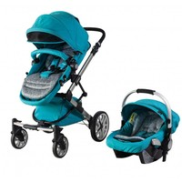 Prego 2070 Laon Seyahat Sistem Bebek Arabası / Mavi