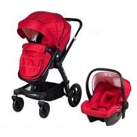 Prego 2075 Viola Seyahat Sistem Bebek Arabası / Kırmızı