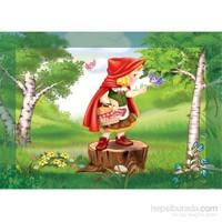 Keskin Color 100 Parça Kutulu Yapboz Kırmızı Başlıklı Kız