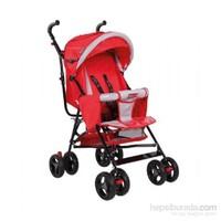 Wei B Wb 3035 Siena Baston Bebek Arabası Kırmızı