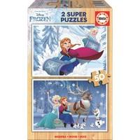 Educa 2 X 50 Frozen