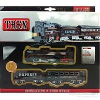 Vardem Kut. 13Pcs Klasık Kucuk Tren Set