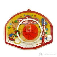 Caillou Basket Potası & Topu - Küçük