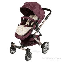 Prego 2070 Laon Vip Travel Sistem Bebek Arabası Mor