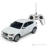 Rastar BMW X6 Uzaktan Kumandalı Jeep 1:24 / Beyaz