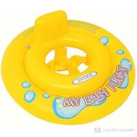 İntex Sarı Bebe Flotoru 67 Cm