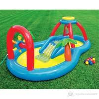 Intex Kaydıraklı Oyunlu Bebek Havuzu 295X193x107 Cm.