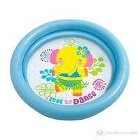 Intex İki Boğumlu Bebe Havuzu Mavi 61X15cm.