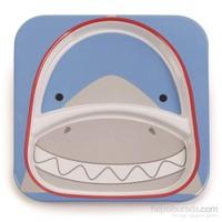 Skip Hop İki Bölümlü Geniş Tabak Köpek Balığı
