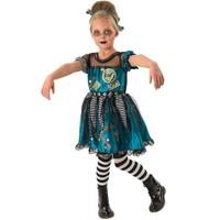 Frankie Girl Kız Çocuk Kostümü 7-8 Yaş