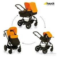 Hauck Pasific Shop N Drive Travel Sistem Bebek Arabası - Orange