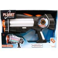 Planet Fighter Power Blaster Sesli Ve Işıklı Oyuncak Silah