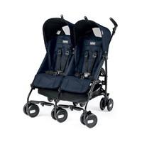 Peg Perego Pliko Mini İkiz Bebek Arabası - Lacivert