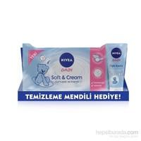 NIVEA Baby Pişik Önleyici Krem ( Nivea Baby Soft & Cream Islak Mendil / 56 Yaprak Hediyeli! )