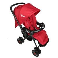 Mcrae Mc 5010 Royalty Çift Yönlü Hafif Bebek Arabası - Kırmızı