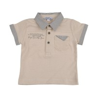 Zeyland Erkek Çocuk Bej T-Shirt Polo Yaka K-41M661bcz52