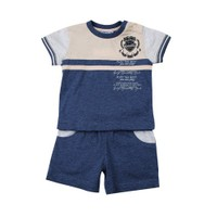 Zeyland Erkek Çocuk Mavi T-Shirt+Sort Tk K-41M661bcz76
