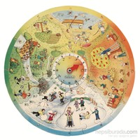 Beleduc 4 Mevsim Yer Puzzle