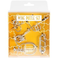 Eureka Wire Puzzle Set-Yellow