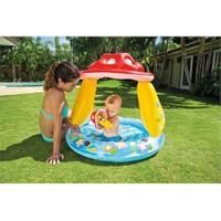 İntex 57114 Mantar Desenli Gölbelikli Bebek Oyun Havuzu