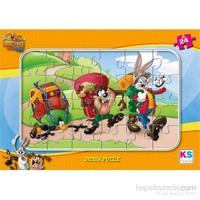 Warner Bros Looney Tunes - Frame Puzzle (Yapboz) 24 Parça