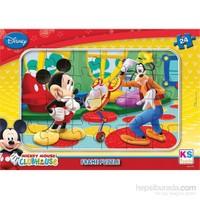 Disney Mickey Mouse Frame Puzzle (Yapboz) 24 Parça