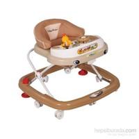 Babyhope 206 Oyuncaklı Yürüteç Kahverengi