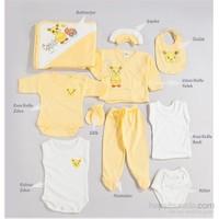 Hello Little 10'lu Hastane Çıkışı Tavşan Desen (Bebek Arabalı) / Sarı