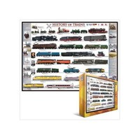 Eurographics Puzzle 1000 Parça History Of Trains 6000-0251