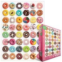 Eurographics Puzzle 1000 Parça Donut Tops 6000-0585