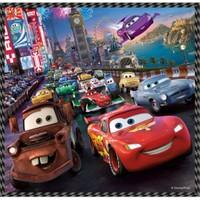 Trefl 20 + 36 + 50 Parça 3'Lü Puzzle Cars 2