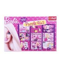 Trefl 390 Parça Çocuk Puzzle Barbie