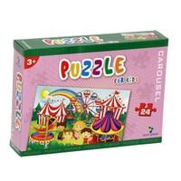 Gizzy Carousel 24 Parça Puzzle
