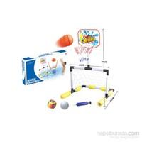 Practika Suda Yüzen Minyatür Kale Ve Basket Potası