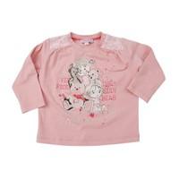 Zeyland Kız Çocuk Pembe T.Shirt Bis.Yaka K-42M532lsr64