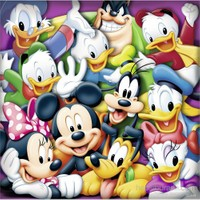 Ravensburger Walt Disney Klasik 3X49 Parçalı Puzzle