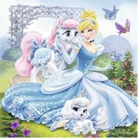 Ravensburger Walt Disney Belle Cinderella Ve Rapunzel 3-49 Parça Puzzle