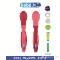 Bebedue İlk Kullanım Kaşığı Purple