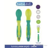 Bebedue İlk Kullanım Kaşığı Green