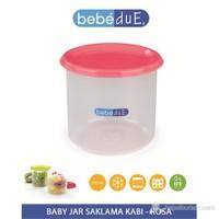 Bebedue Baby Jar Saklama Kabı 300 Ml Pembe