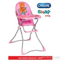 Casual Snap Mama Sandalyesi 2015 Sezon / Pembe
